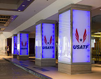 USATF Event Activation Branding