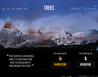 Website Design - TREKS JO
