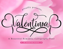 Valentinoa Calligraphy Font