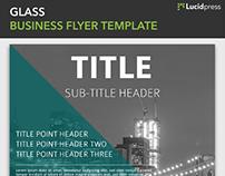 Glass Business Flyer Template | Lucidpress