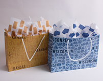 Fifty Nifty Gift Bags & Tissue Paper