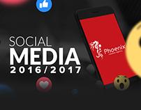 Social Media Posts 2016-2017