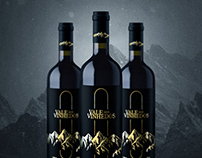 Vale dos Vinhedos, logo, label and 3D visualization
