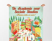 De academie voor sociale studies