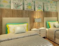 Private apartment - kidsroom