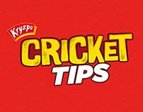 Kryzpo Cricket Tips/ Cápsulas