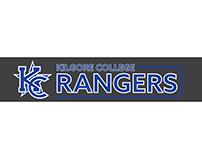 Kilgore College Rangers Window sticker.