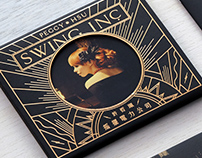 "Album cover Design ""Swing Inc."" by Peggy Hsu"