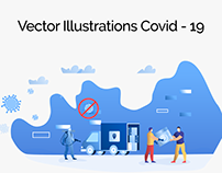 Vector Illustration Covid-19