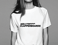 Hollywood clapperboards