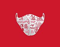 Face Mask. Cantabria