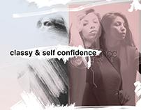 classy & self confidence