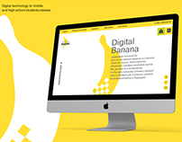 Site fot Digital Banana