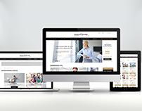 Business&Prestige Web Service. UI/UX, RWD