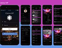 Mobile app | Creme VIP