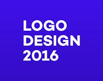 Top ten favorite logos made in 2016.
