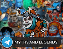 Myths and Legends Telegram Sticker Pack