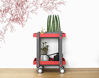 Sweet Trolley Table for munito