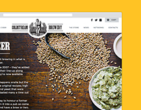 Coldstream Brewery - Web Design