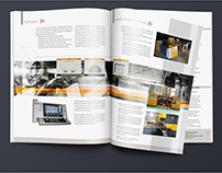 A set of catalogues and website design for KOLTECH