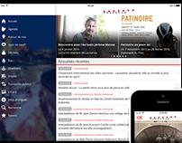 Design application Ville de Lausanne