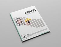 Arang Art Magazine Template