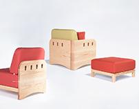the TOWN modular-sofa