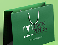 TWIN PINES MALL LOGO REDESIGN