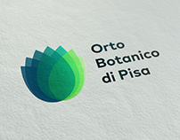 Pisa Botanic Garden — New Logo Proposal