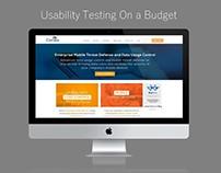 Usability Testing on a Budget