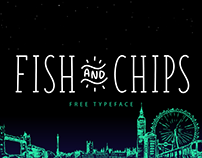 Fish & Chips - A free serif and  handwritten font