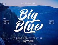 Free Font: Big Blue