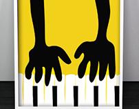 Outdoor poster of Jazz fest