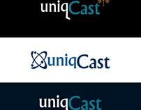 UniqCast Logo Design