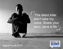 Break The Silence on Mental Health || Video ||
