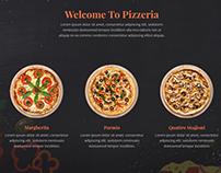 Home - Pizza - Food WordPress Theme - Site Builder