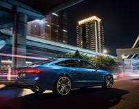 Audi A7, personal project CGI