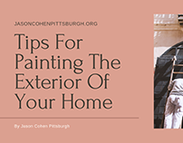 Tips For Painting The Exterior Of Your Home