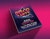 Disco Party 80's