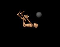 Animacja postaci - strzał - kula