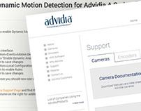 Advidia IP Camera Support