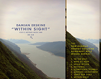 "damian erskine ""within sight"" album packaging"