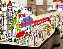 Ride RTA Cleveland - mural