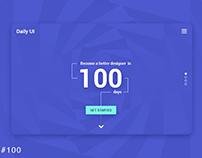 DailyUI - our creative designs