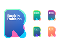 Baskin Robbins Logo Re-design concept