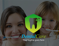 Free Dental Care Logo Template
