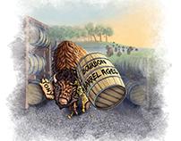 Big Tony's Beer Label