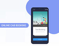 Online Cab Booking(Support Google Map)
