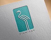 Flamingo Logo Design.