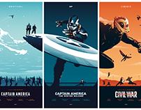 CAPTAIN AMERICA Trilogy
